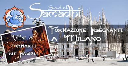 Formazione Insegnanti Yoga anche a Milano