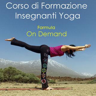 formazione yoga online on demand