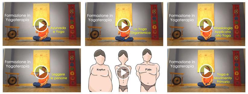 yogaterapia corso video